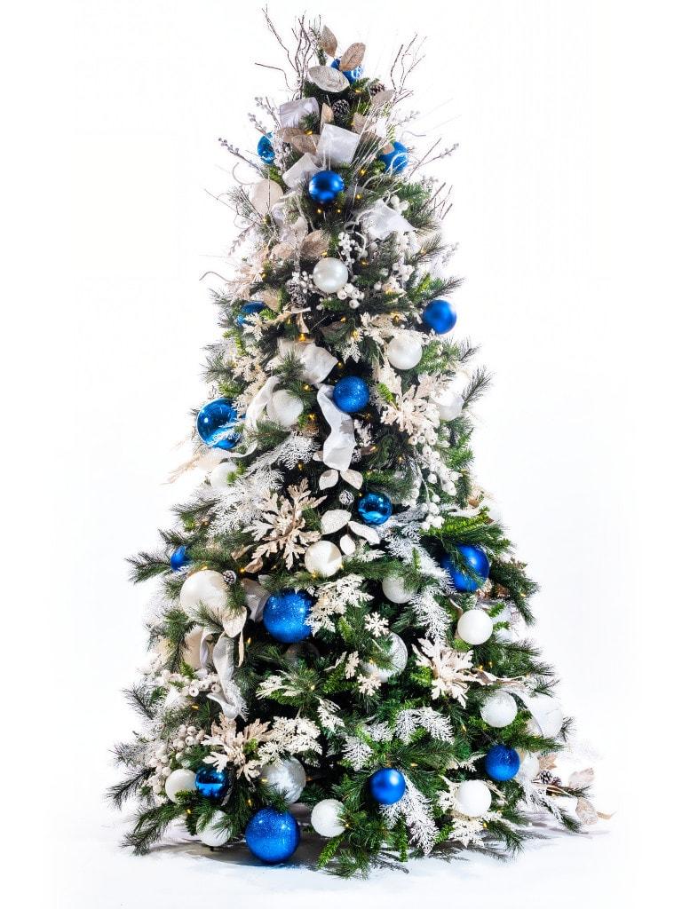 Winter Luxe + Cobalt